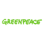 Greenpeace logo and link